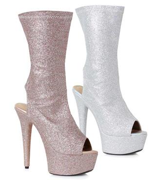Peep Toe Ankle Booties   Ellie Shoes 609-Harper