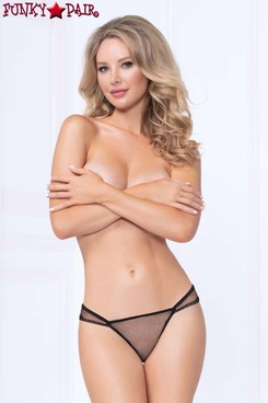 Netting Cheeky Panty STM-10984 color black