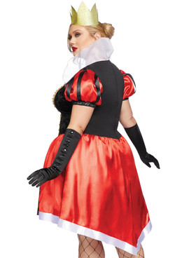 Wonderland Queen Costume, LA-86839X Plus Size by Leg Avenue