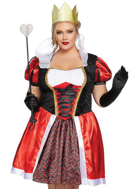 Plus Size Wonderland Queen Costume, LA-86839X