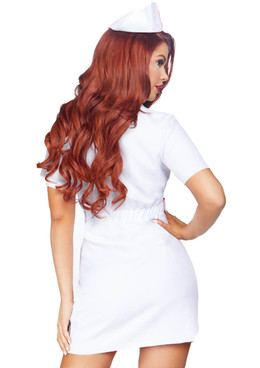 LA-86819, TLC Nurse Costume Leg Avenue back view