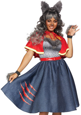 Leg Avenue | Women's Teen Wolf Costume, LA-86848