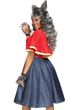 LA-86848, Women's Teen Wolf Costume by Leg Avenue