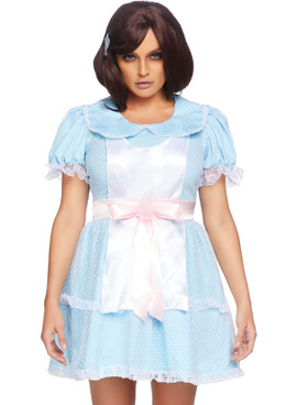 LA-86866 Creepy Sibling Costume Front View by Leg Avenue |LA-86866