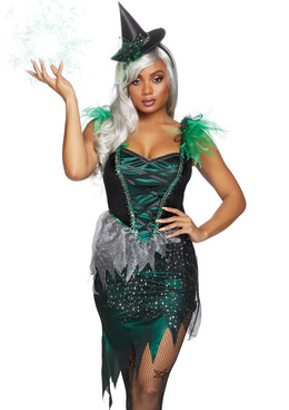 Leg Avenue | Wicked Witch Costume, LA-86816