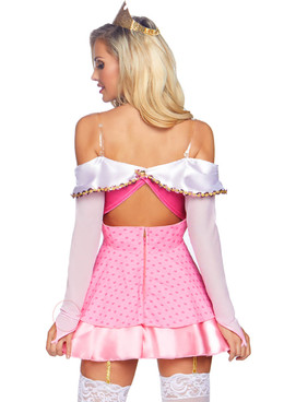 Leg Avenue LA-86856, Women's Napping Princess Costume back view