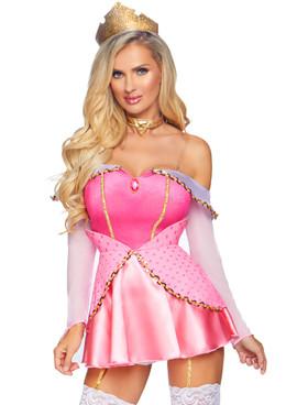 LA-86856, Women's Napping Princess Costume by Leg Avenue