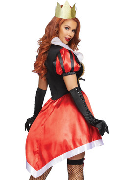Wonderland Queen Costume by Leg Avenue LA-86839, back view