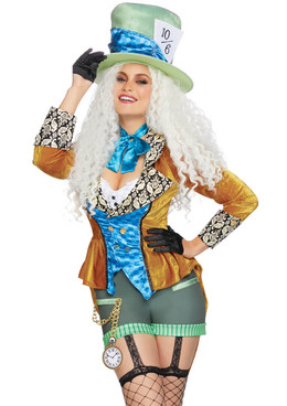 LA-86874, Classic Mad Hatter Costume by Leg Avenue