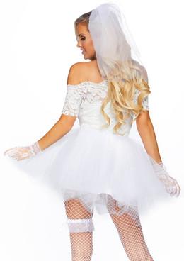 Leg Avenue LA-86826, Blushing Bride Costume back view