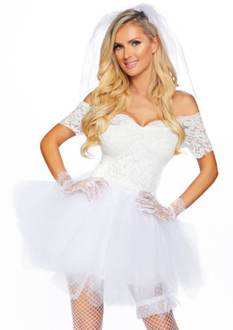 Blushing Bride Costume by Leg Avenue LA-86826