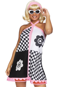 Swinging 60's Sweetie Costume, LA-86838 by Leg Avenue