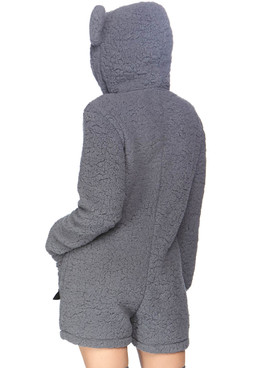 Leg Avenue LA-86834, Women's Cuddle Koala Costume Back View