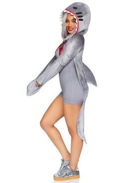 Leg Avenue LA-86873, Wo-Man-Eating Shark Costume Side View