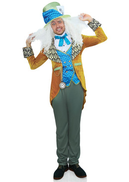 Leg Avenue LA-86875 Men's Classic Mad Hatter Costume Full View
