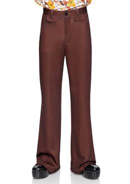 LA-86876, Men's Bell Bottom Pants by Leg Avenue