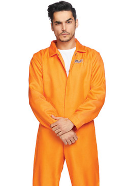 Men's Prison Jumpsuit Costume by Leg Avenue LA-86877