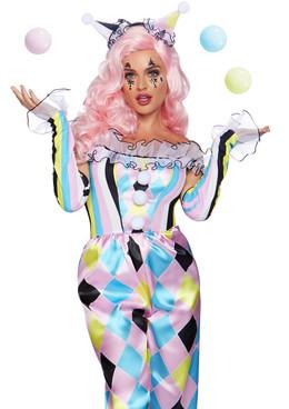 Women's Pretty Parisian Clown Costume, by Leg Avenue LA-86865