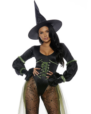 FP-559626, Sweet Wicked Witch Costume by Forplay