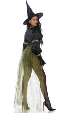 Sweet Wicked Witch Costume by Forplay FP-559626, back view