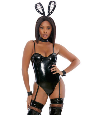 FP-559628, Naughty on Edge Bunny Costume by Forplay