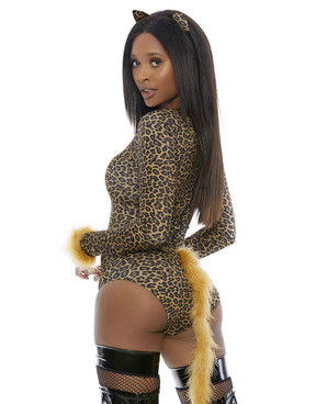 Meow! Sexy Cat Costume for Forplay FP-559629, back view