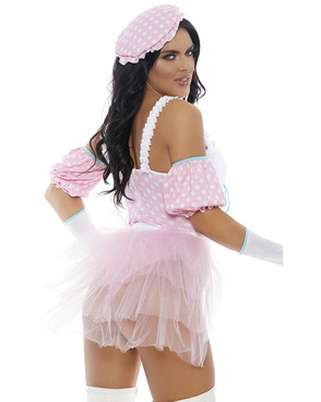 Forplay Costume | FP-559608, Lil' Peep Character Costume Back View