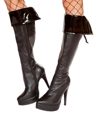 R-4951, Vinyl Boot Cuffs Costume by Roma