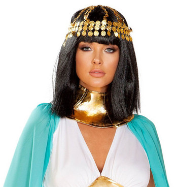R-4927, Coin Headpiece by Roma Costume Accessories