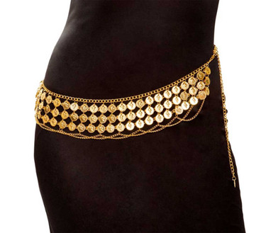 R-4959, Belly Dancer Gold Coin Wrap by Roma