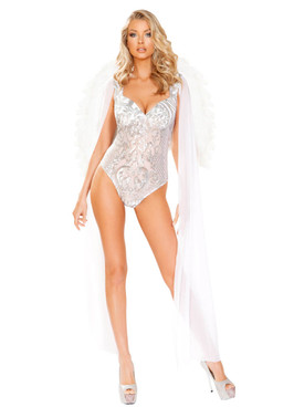 Angel From Heaven Costume by Roma R-4913, Front Full View