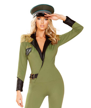 R-4924, Military Army Babe Costume by Roma