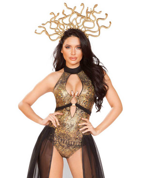 R-4932, Medusa Snake Lover Costume by Roma