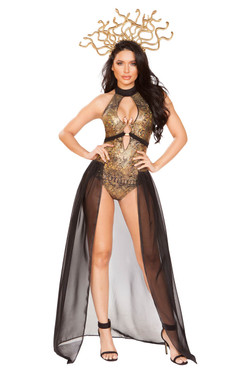 Medusa Snake Lover Costume by Roma R-4932, Front Full View