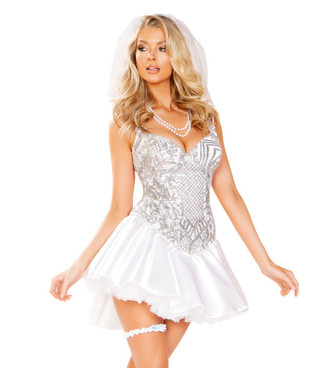 R-4939, The Newlywed Bride Costume by Roma