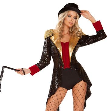 Roma   R-4940, Women Ringmaster of Circus Costume