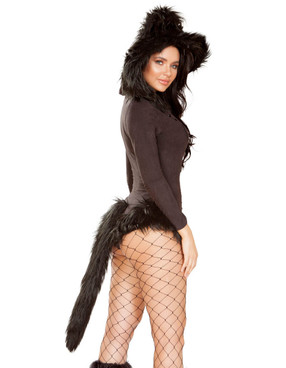 R-4943, Vicious Cat Costume Roma | Back View
