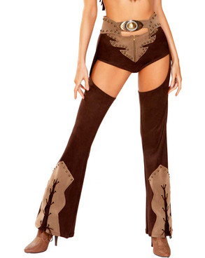 R-4945, Cowgirl Chaps by Roma  Costume