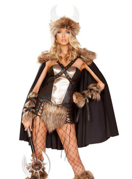 Roma | R-4892, Women's Viking Warrior Costume