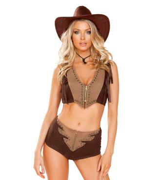 R-4946, 2pc Western Cowgirl Costume by Roma