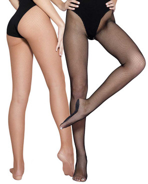 Music Legs | ML-90003, Professional Dancers Fishnet Tights