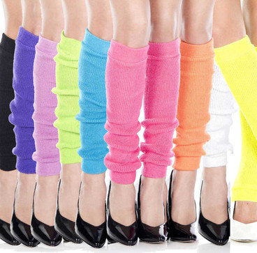 Over The Knee Footless Opaque Leg Warmers Music Legs 5573