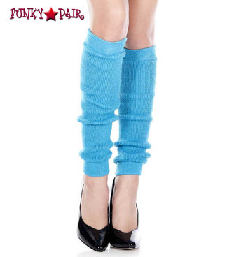 ML-5724, Turquoise Acrylic Knee High Leg Warmer by Music Legs