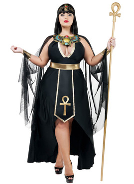 Plus Size Egyption Queen Costumes by Starline S9025X,
