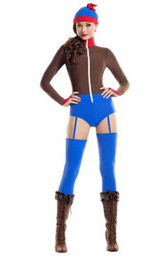 S8037, Stanka Romper Costume by Starline Full View