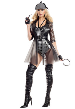 S8046, Ms. Private Investigator Costume by Starline Full  View