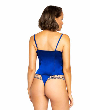 R-LI342, Lounge Short Set by Roma back view