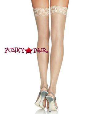 Sheer Stockings Lace Top Backseam | Leg Avenue (1101)