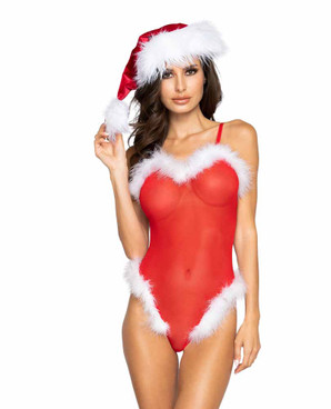 Roma R-LI319 Women's Mesh and Fur Teddy view with C120