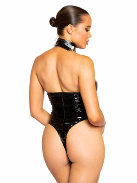 R-LI374, Chain Leash Choker back view
